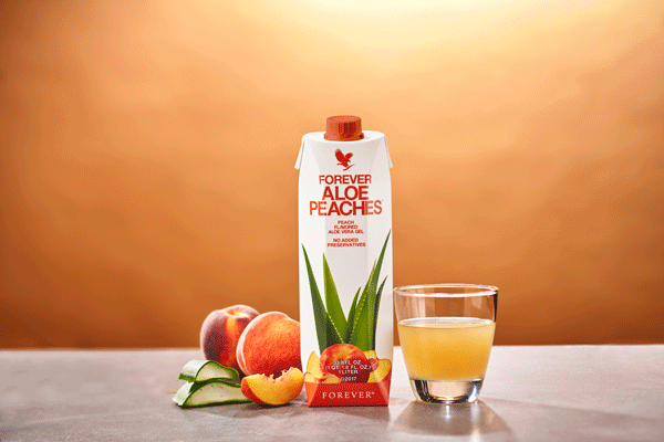 Aloe_Gel Peach perzik